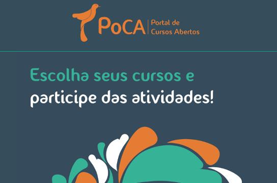 Com 32 mil usuários cadastrados, PoCA oferece 26 cursos gratuitos (Imagem: Reprodução)