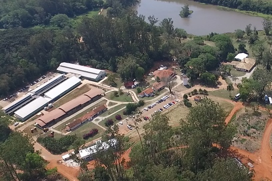 Campus Lagoa do Sino, vista aérea (Foto: Tiago Santi)