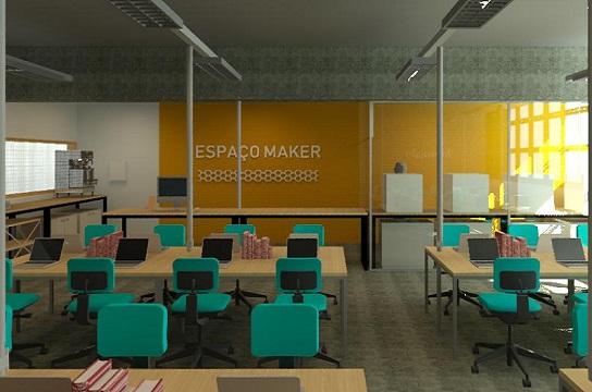 Projeto do Espaço Maker do Departamento de Computação (Foto: SeGEF/ UFSCar)