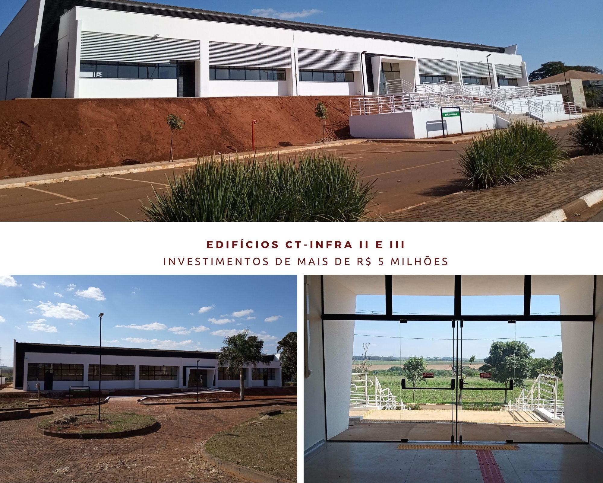 Novos prédios no Campus Araras