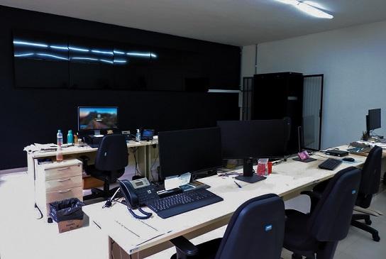 Nova Sala de Monitoramento e Segurança da UFSCar já está em funcionamento (Foto: Reitoria UFSCar)
