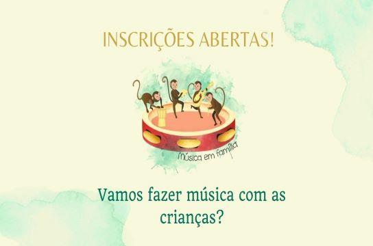 UFSCar oferece curso sobre música para crianças