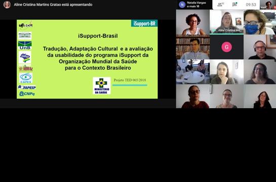 Equipe da UFSCar apresenta projeto ao Ministério da Saúde